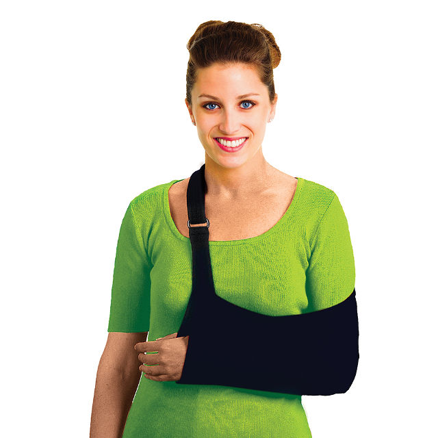 Average Adult size (large) - Ultimate Arm Sling - Strech for Comfort